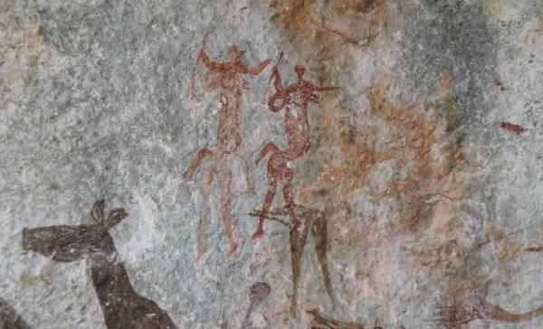 Zeer oude grottekeningen ontdekt